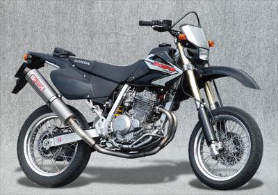 ヤマモト.R チタン2-1/DOWNチタンサイレンサー XR250 《ヤマモトレーシング 10256-61DTB》