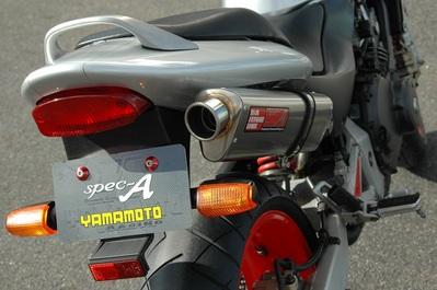 ヤマモト.R ステン4-1/TYPE-S JMCA キャタナシ ホーネット250 《ヤマモトレーシング 10259-11STN》