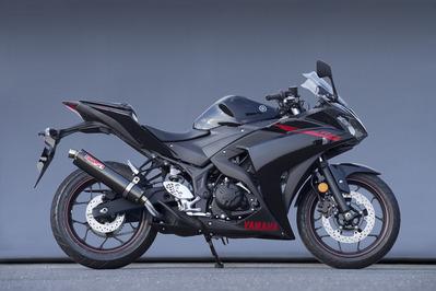 ヤマモト.R スリップオン CF YZF-R25 14- 《ヤマモトレーシング 20254-01NCN》