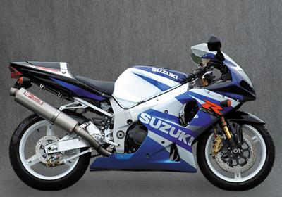 ヤマモト.R スリップオン/UPチタンサイレンサー GSXR1000 -04 《ヤマモトレーシング 31000-01UTB》