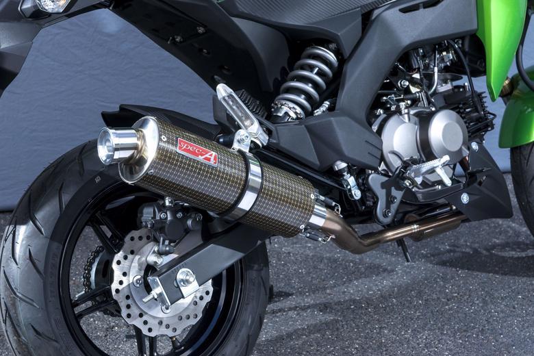 ヤマモト.R SPEC-A UP ケブラー Z125PRO 16-(2BJ-BR125H) 《ヤマモトレーシング 40114-71SKC》