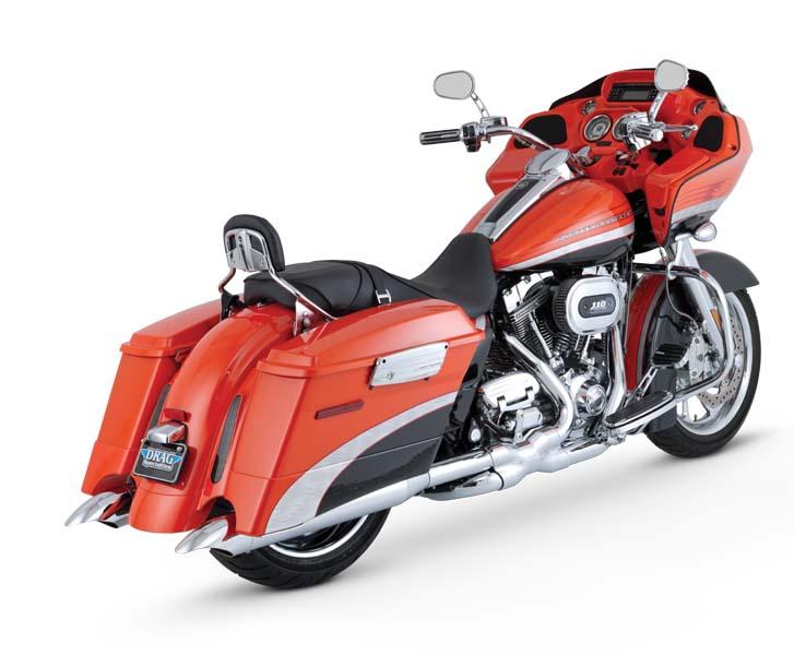 VanceHines TURNDOWN S/O TOURING 95-16 《バンスアンドハインズ[PLOT] 1801-0394》【マフラーの販売ですバイク車体は別売りです】