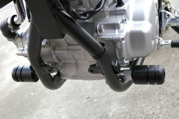 【外装パーツ】ベビーフェイス エンジンスライダー BLK WR250X 08-11 《ベビーフェイス 006-SY012》◇Cr◇