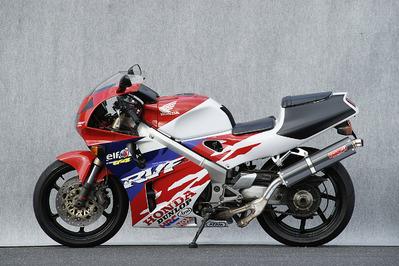 ヤマモト.R スリップオン/カーボンサイレンサー RVF400 《ヤマモトレーシング 10409-01NCB》