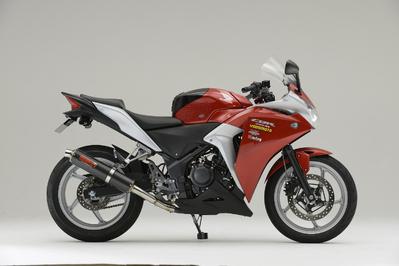 ヤマモト.R SPEC-A スリップオン カーボン CBR250R JBK-MC41 11- 《ヤマモトレーシング 10261-01NCC》