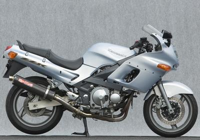ヤマモト.R S/O カーボンサイレンサー2ホンダシ/キャタ ZZR400 -05 《ヤマモトレーシング 40405-02NCB》