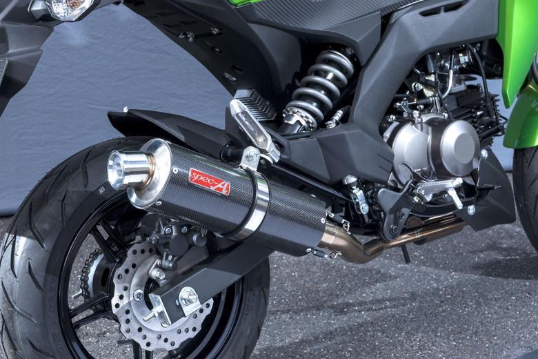 ヤマモト.R SPEC-A UP カーボン Z125PRO 16-(2BJ-BR125H) 《ヤマモトレーシング 40114-71SCC》
