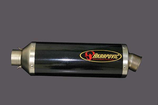 スーパーセール スーパースーパーセールAKRAPOVIC リペアサイレンサー EVO2カーボン350mm GSXR1000 05 《アクラポヴィッチ M-TCDE6/35/1》