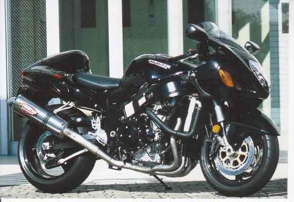 ストライカー レーシングコンセプト チタン/ヒート GSX1300R -07 《ストライカー 6384OT50-H》