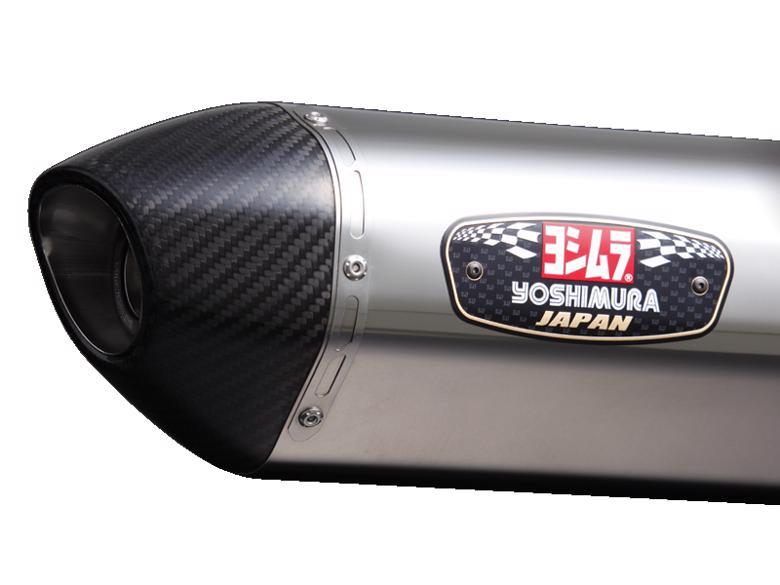 ヨシムラ S/O R-77S サイクロンカーボンエンド Ninja250/ABS 13/Z25> 《ヨシムラジャパン 110-227-5W50》