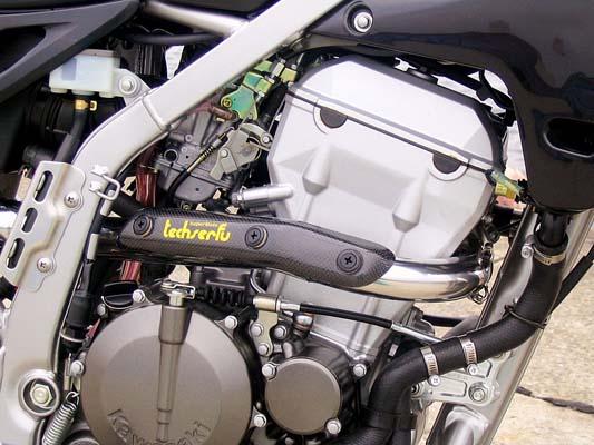 テックサーフ スーパーモトエキパイ ポリッシュ KLX25/D-TRA 01- 《テックサーフ T18-K020-EP01》