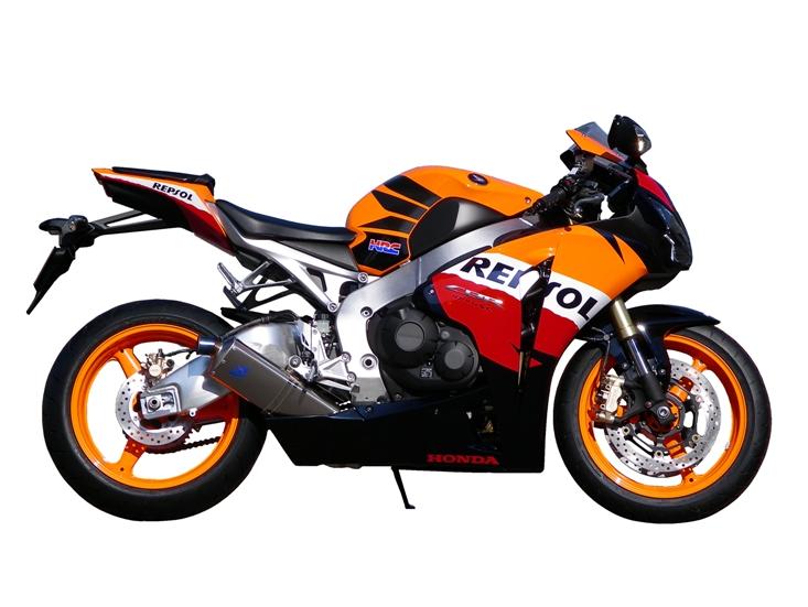 TSR レーシングスリップオンマフラーサブカウルツキ CBR1000RR 09 バイブラ> 《ティーエスアール 1800R-S59-TS01C》