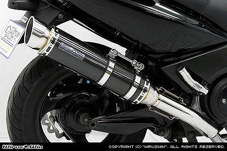 WirusWin ダイナミックマフラー/ポッパー BLK・C T-MAX(SJ02J) 《ウイルズウィン 452-27-73》