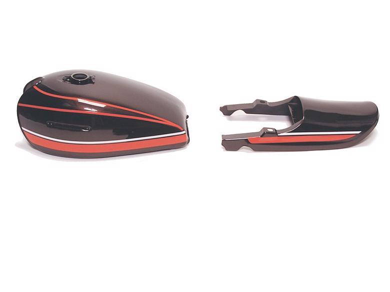 ドレミコレクション RSタイプペイントスミタンクセット 赤タイガー Z750D1/Z10> 《ドレミコレクション 40045》