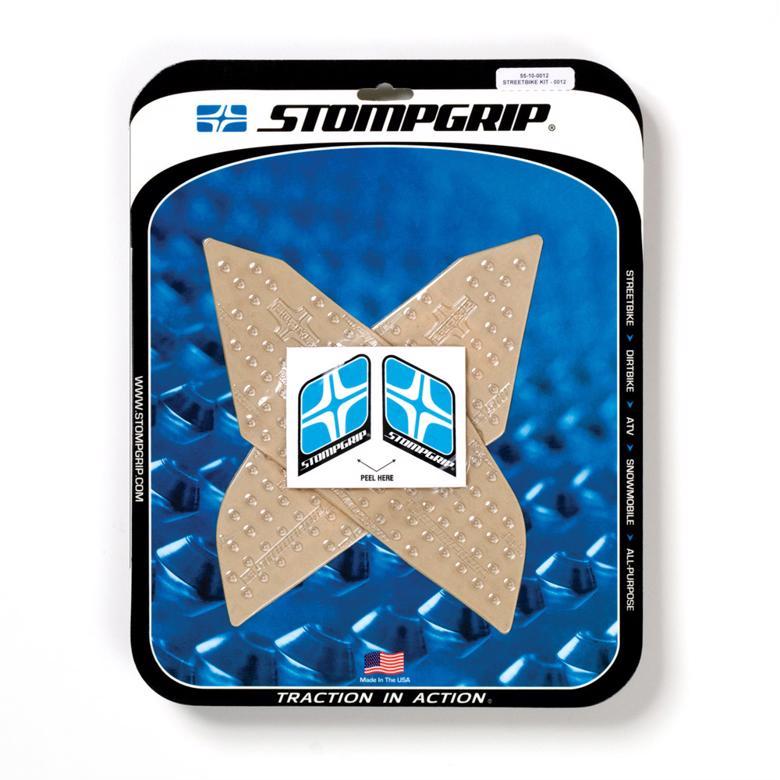 STOMPGRIP トラクションパッドタンクキット クリア FJR1300 03-17 《ストンプグリップ 55-10-0012》
