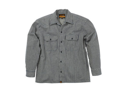 DAYTONA NHB-1503ワークシャツ/Hブルー #L 《デイトナ 93155》