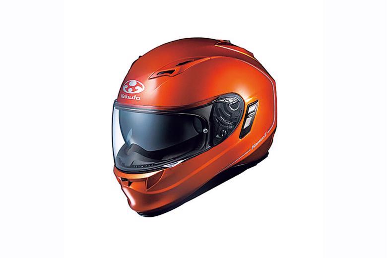 OGK KAMUI2 ヘルメット シャイニーオレンジ #XS 《オージーケー 4966094554781》