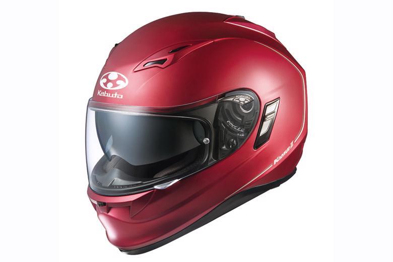 OGK KAMUI2 ヘルメット フラットレッド #L 《オージーケー 4966094566876》