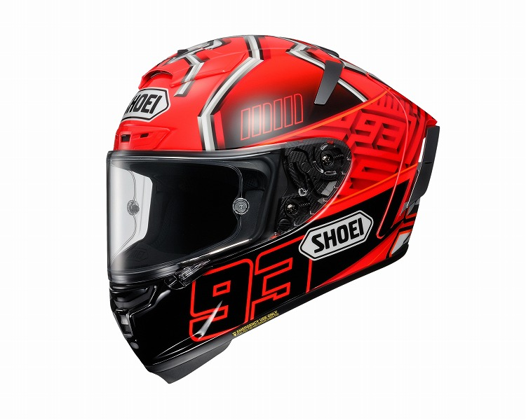 SHOEI X-FOURTEEN MARQUEZ4 TC-1 #S(55cm) 《ショーエイ 4512048459802》