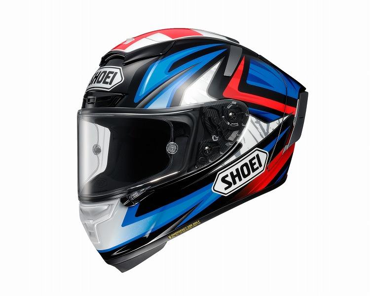 SHOEI X-FOURTEEN BRADLEY3 TC-1 #XS 《ショーエイ 4512048459888》