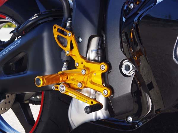 ベビーフェイス バックステップ BLK 9P CBR600RR ABS 09-16 《ベビーフェイス 》