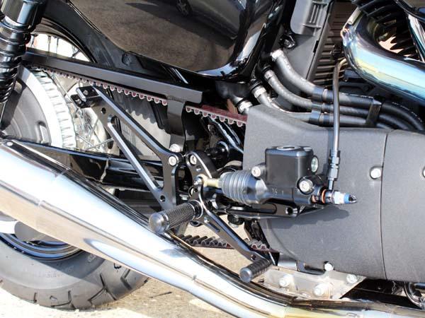 ベビーフェイス バックステップ/BLK 4P Sportster XL1200 14 《ベビーフェイス 》