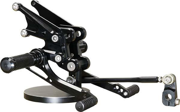 ベビーフェイス バックステップ/SLV 8P ZZR1400/ZX14 06-11 《ベビーフェイス 》