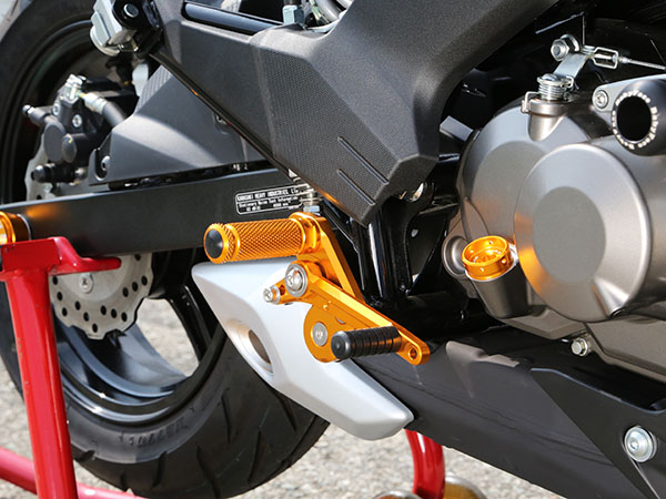 ベビーフェイス バックステップキット BLK Z125 Pro 16- 《ベビーフェイス 》