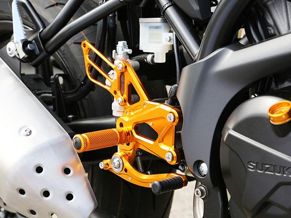 ベビーフェイス バックステップキット SLV SV650 ABS 16- 《ベビーフェイス 》