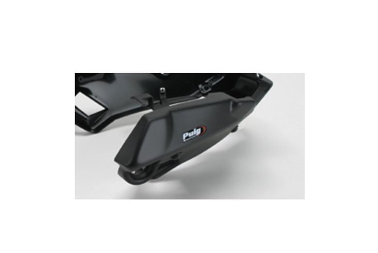 プーチ エンジンスポイラー つや消しBLK Z800 13- 《プーチ 6507J》