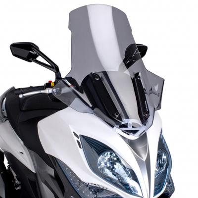 プーチ スクリーンV-TECHツーリング スモーク KYMCO XCITING400 14- 《プーチ 6034H》