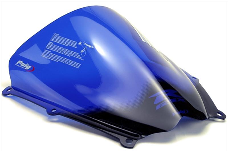 プーチ スクリーン レーシング ブルー GSXR1000 07-08 《プーチ 4363A》