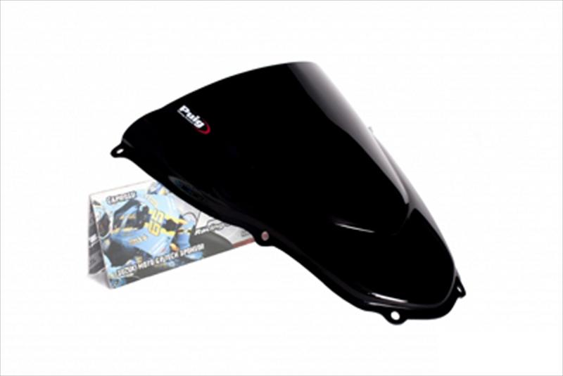 プーチ スクリーン レーシング ブラック アプリリア RS125/50 06-10 《プーチ 4183N》
