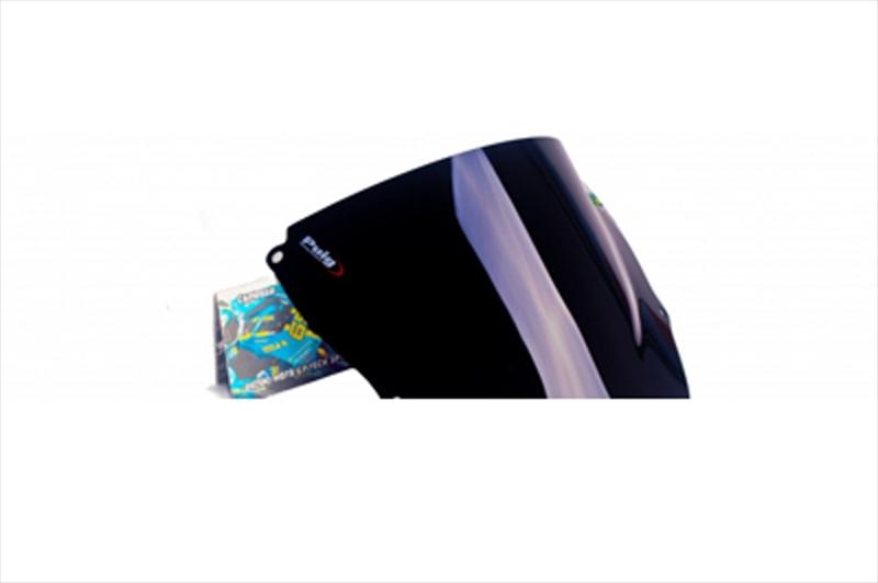 プーチ スクリーン レーシング ブラック HYOSUNG GT650I 09-13 《プーチ 5253N》