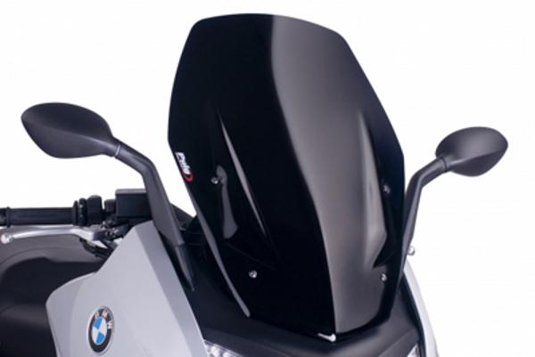 プーチ スクリーン V-TECHツーリング ブラック BMW C600S 12-13 《プーチ 6031N》