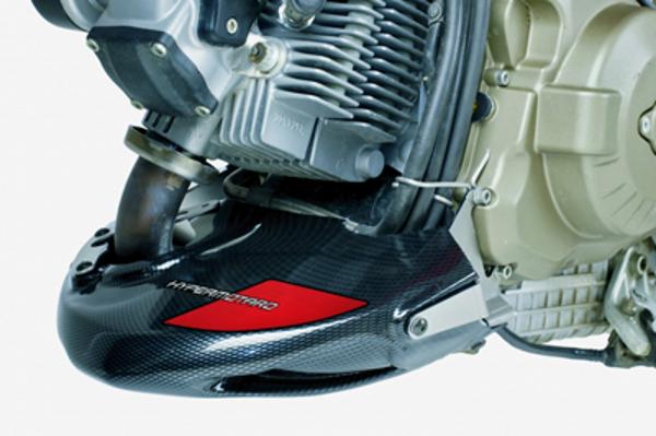 プーチ    エンジンスポイラー カーボン.P    DUCATI HYPERMOTARD 1100/S 08-12 《プーチ 4700C》