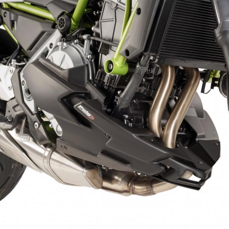 プーチ エンジンスポイラー ブラック Z650 17- 《プーチ 9589J》 スーパーセール