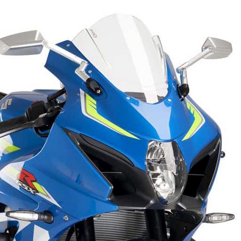 プーチ スクリーン レーシング クリア GSX-R1000/R 17 《プーチ 9013W》