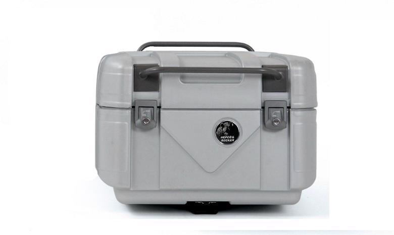 ヘプコ&ベッカ GOBI トップケース 42 42L シルバー 《ヘプコアンドベッカー 610084-0009》