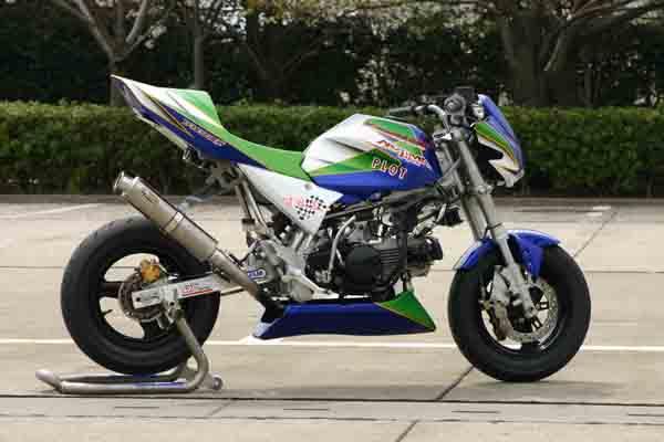 NOJIMA Z110キット レーシング WHTゲル KSR110 《ノジマ NCW621FS-WT-RC》