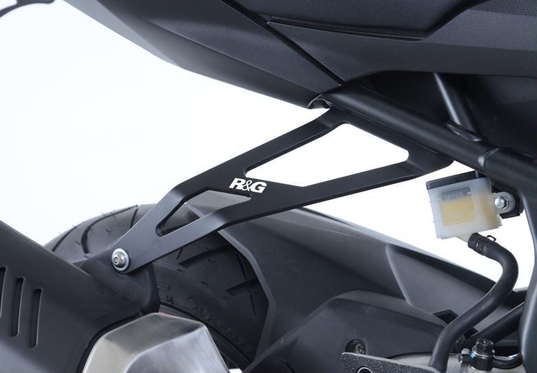 R&G エキゾーストハンガー ブラック CBR250RR 17- 《アールアンドジー RG-EH0075BK》◇Cr◇