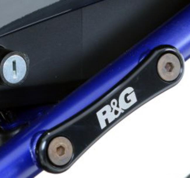 スーパーセール R&G リアフットレストプレート MT-07 14- 《アールアンドジー RG-BLP0032BK》