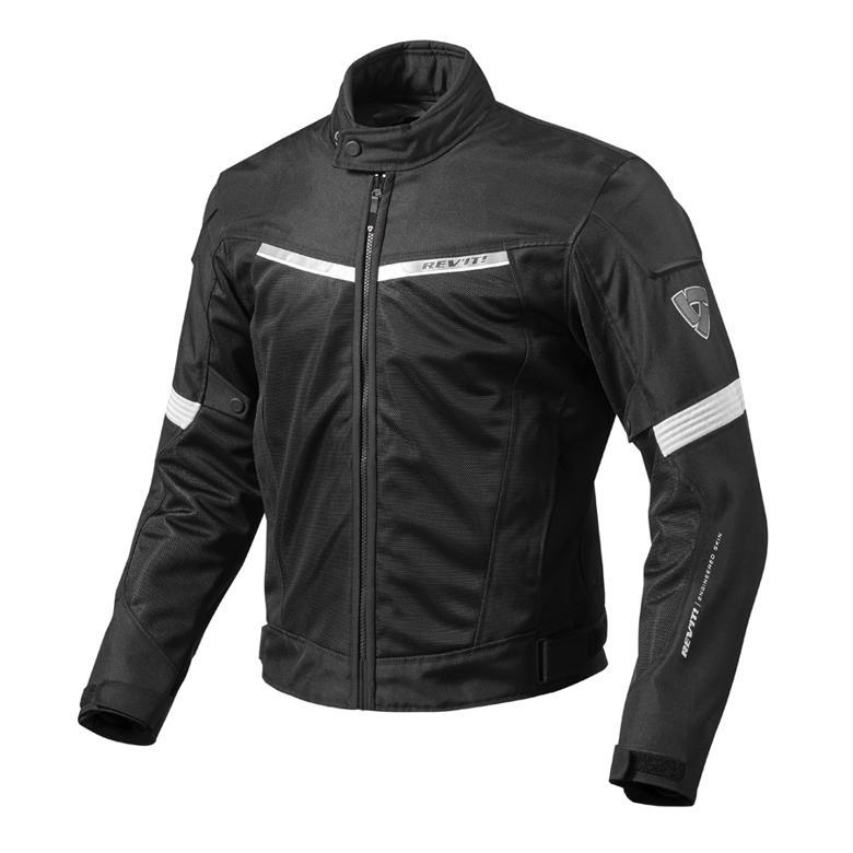 REV`IT エアウェイブ2 ジャケット ブラック/ホワイト XL 《レブイット FJT201-1600-XL》