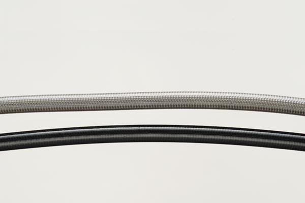 SwageLine フロントホースキット BLK/クリア 250SB 02-05 《SWAGE-LINE BAF531K》
