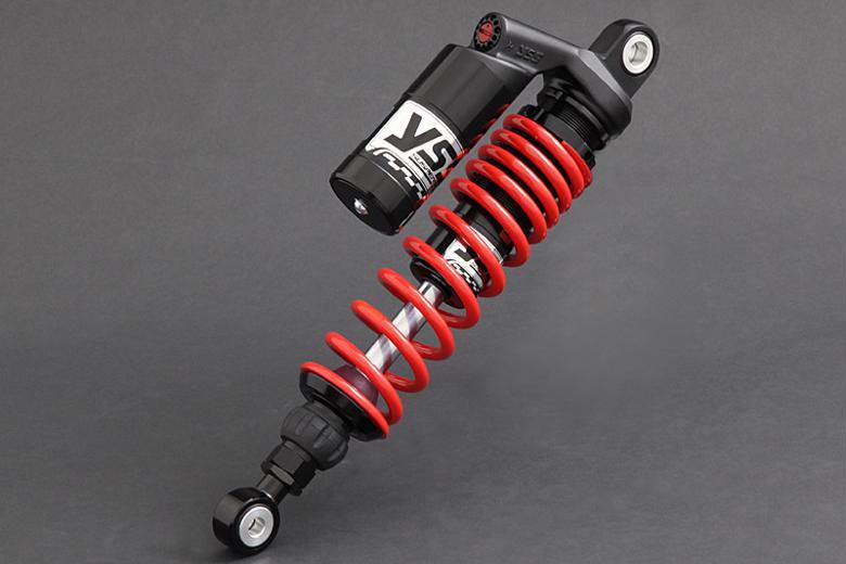 YSS RACING リアショック G366/350mm BLK/RED ZEPHYR400/χ 《ワイエスエスレーシング 116-61105-11》