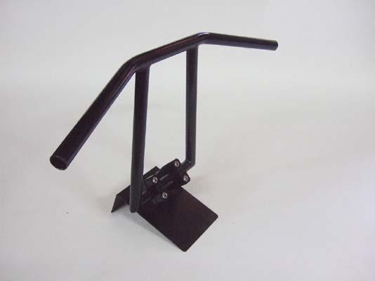 アルキャンハンズ ブラックハンドル 22.2mm リトルボーイ 10インチ 《アルキャンハンズ D00145D》