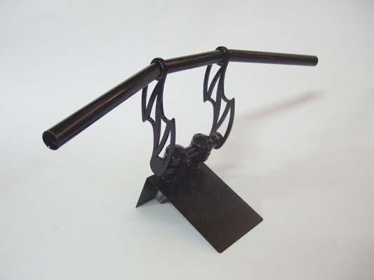 アルキャンハンズ ブラックメッキハンドル 25.4mm サンダーレイザー 《アルキャンハンズ D40020D》