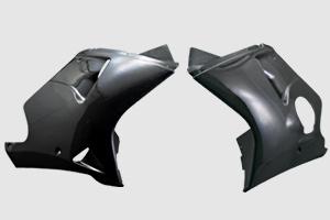 A-TECH ロアーカウル(L/Rセット) FW CBR1100XX 97-98 《エーテック H06201》