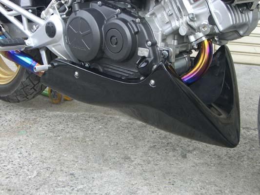 A-TECH アンダーカウル アヤオリカーボン VTR250 09- 《エーテック H07224》