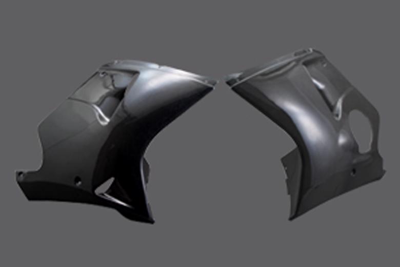 A-TECH ロアーカウル(L) カーボン CBR1100XX 99- 《エーテック H26082-L》